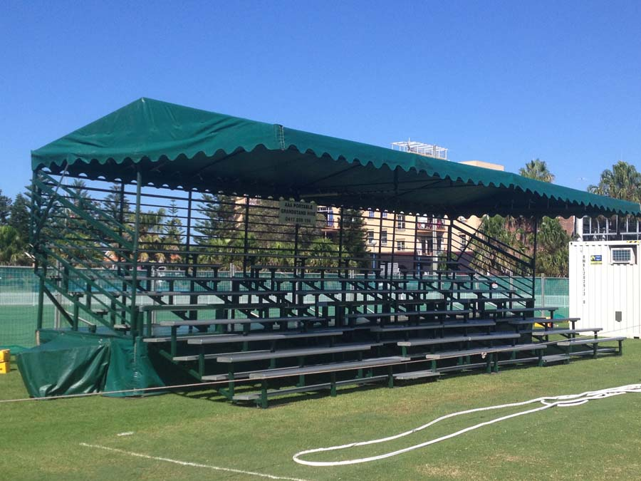 Grandstand canopy Coogee Oval