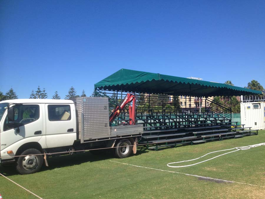 Truck Grandstand Canopy